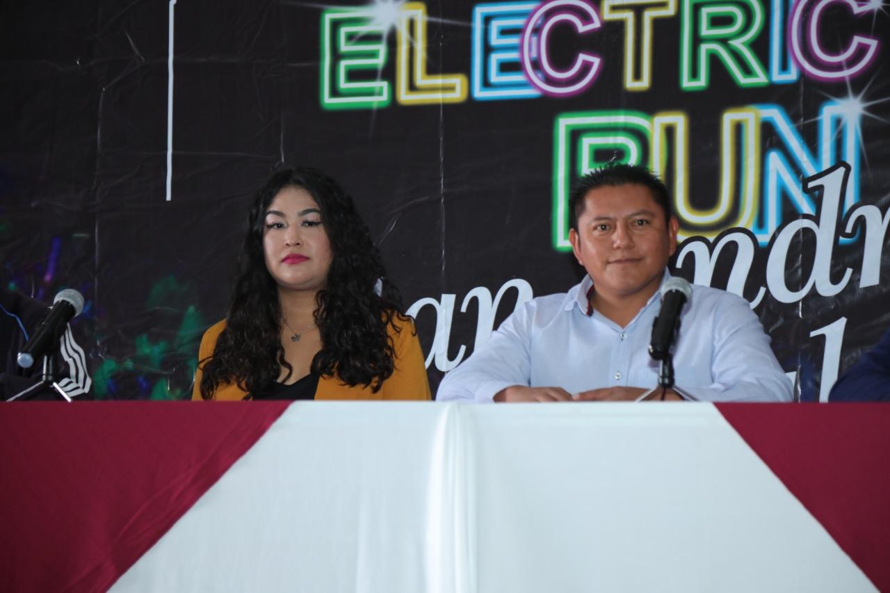 Dirección de Deporte y Juventud presenta la carrera Electric Run San Andrés Cholula - La Primicia MX