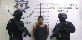 Foto: Policía Municipal San Pedro Cholula