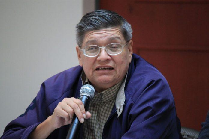 José Luis Tenorio Padilla, vocero de Fuerza Amplia de Transportistas.
