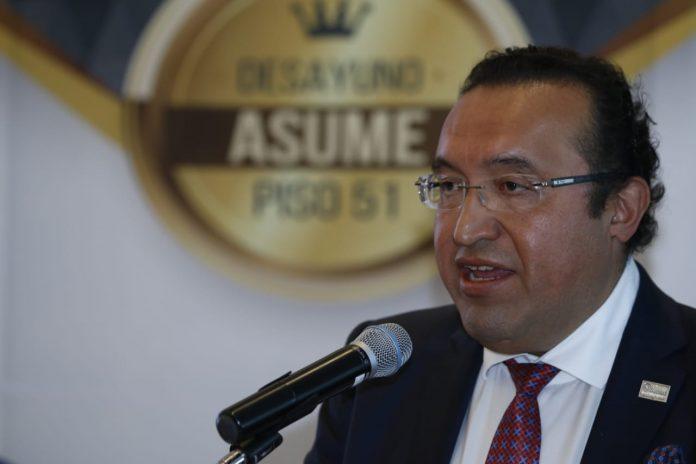 Foto: Armando Zúñiga Salinas, presidente de Agrupaciones de Seguridad Unidas por México (ASUME).