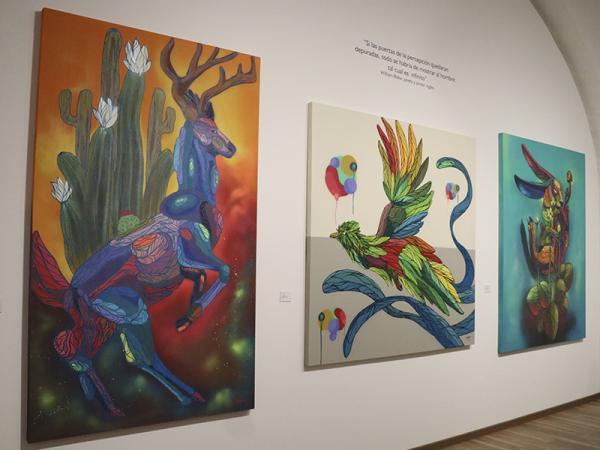"""En San Pedro Museo de Arte, Cultura inaugura exposición """"Psicodelia Animal"""""""