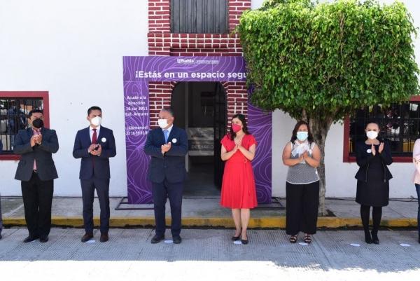 INAUGURA AYUNTAMIENTO DE PUEBLA CENTRO DE MEDIACIÓN EN SANTA MARÍA GUADALUPE TECOLA