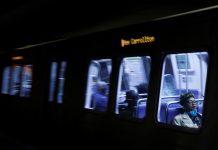 Un tren de metro se descarrila en un túnel en EE.UU.