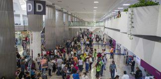balacera en el Aeropuerto Internacional de Ciudad de México