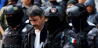 Detención del narcotraficante Dámaso López 'El Licenciado' en Ciudad de México, 2 de mayo de 2017