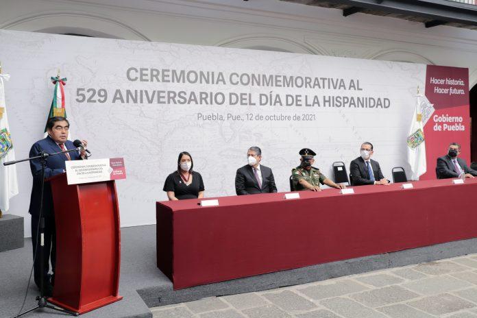El gobernador presidió la Ceremonia Conmemorativa al 529 Aniversario del Día de la Hispanidad