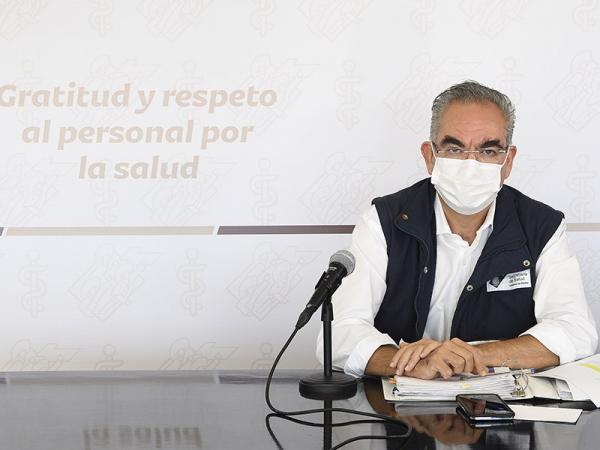 Vacunación COVID Puebla